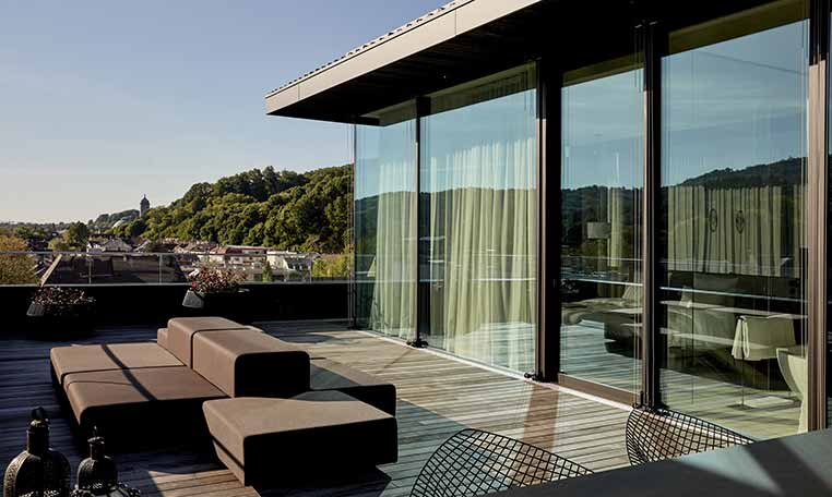 drive in motion Roomers Baden-Baden Rooftop Bar