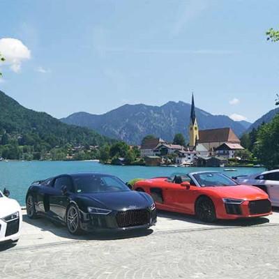 Sportwagentour ab München durch das Alpenvorland