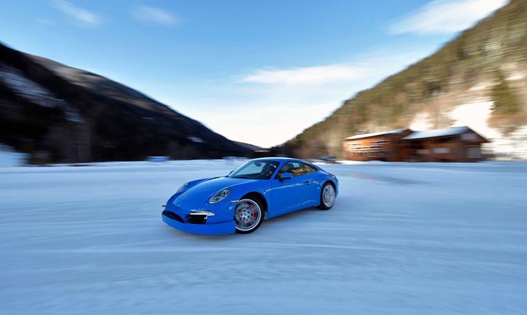 Porsche Wintertraining auf dem Katschberg