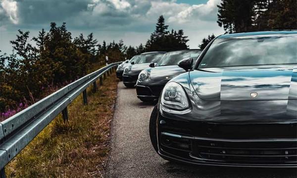 drive in motion Porsche Tour auf Schwarzwaldhochstraße