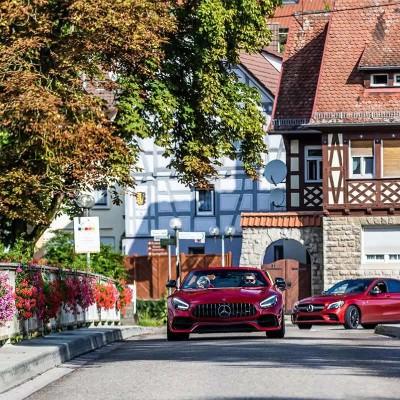 Porsche / Mercedes-AMG Mosel sports car tour