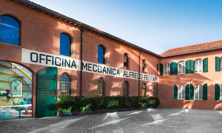 drive in motion Ferrari Lamborghini Autodromo Modena, Ferrari Museum
