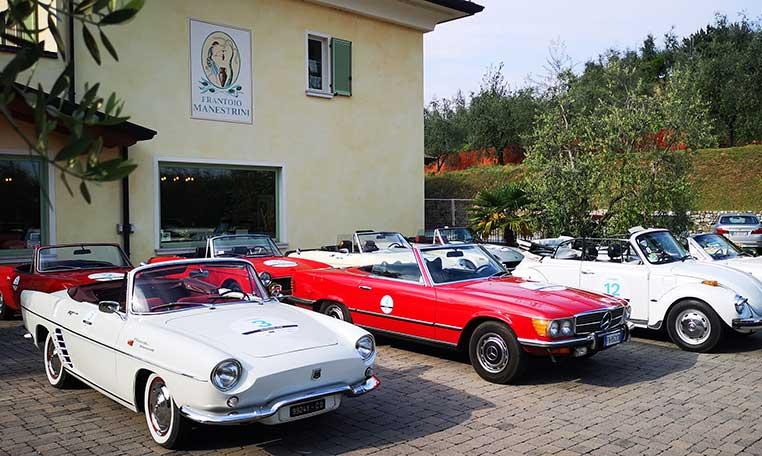 drive in motion Oldtimertour Gardasee Oldtimer
