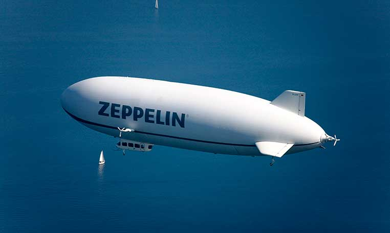 drive in motion Zeppelin NT Rundflug über Bodensee
