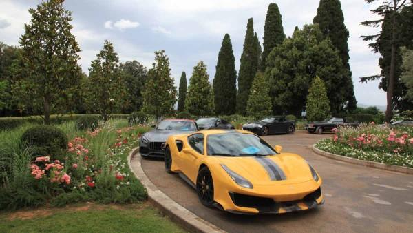 drive in motion Supersportwagentour Italien