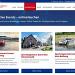 Drive in motion mit neuem Onlineshop – Dream now – book now – drive now!