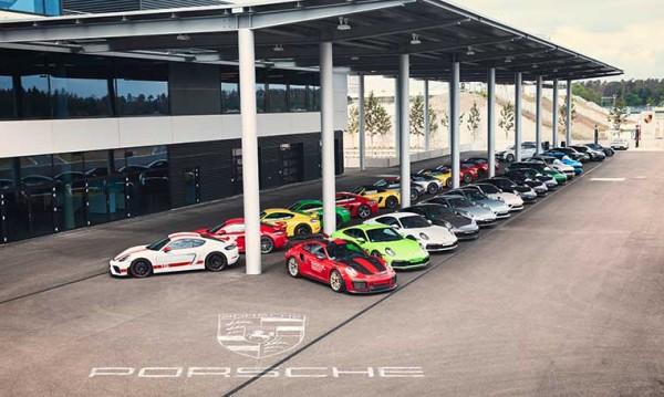 drive in motion Porsche Experience Center Hockenheimring