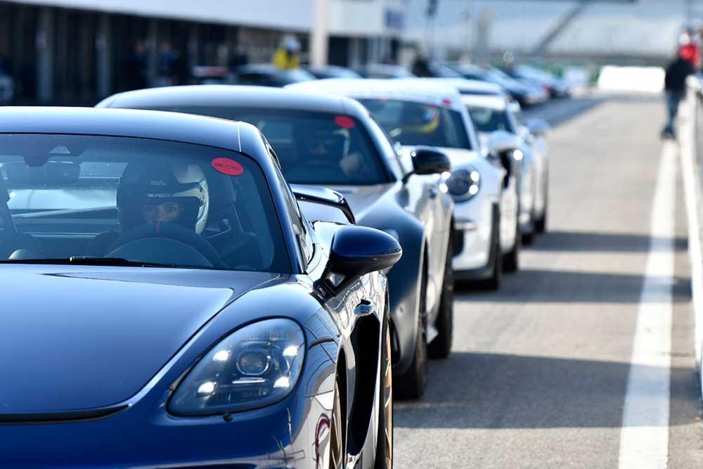 drive in motion Hockenheimring Porsche Line Up