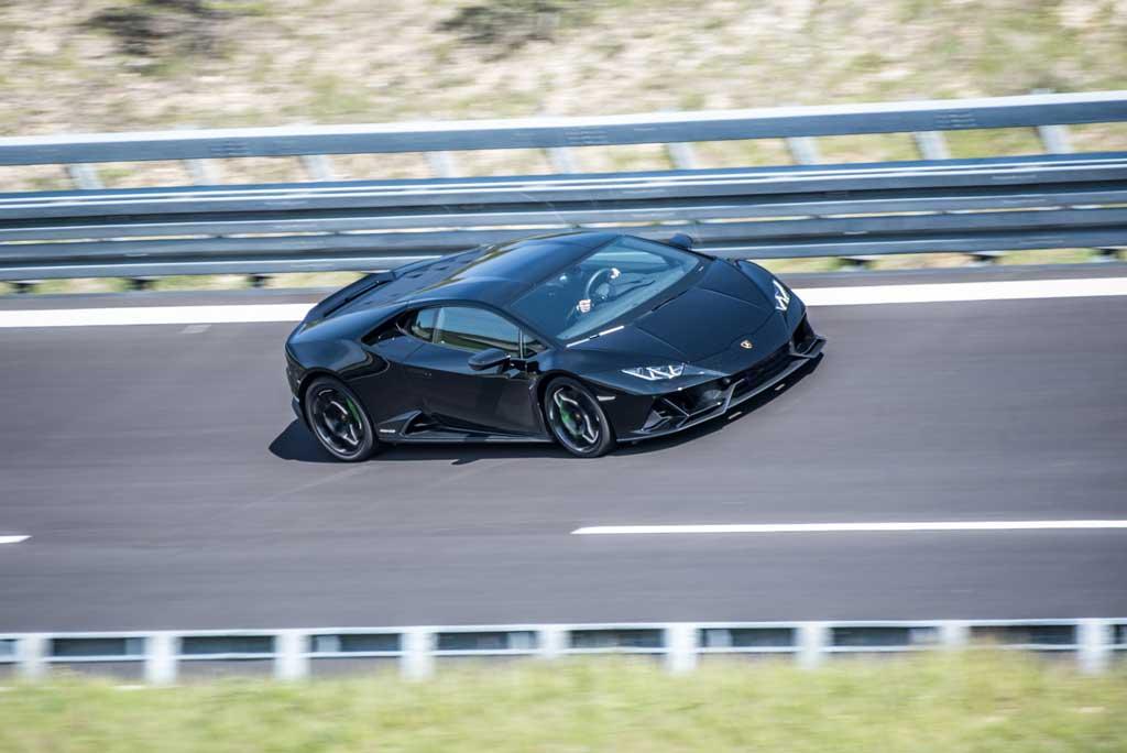 drive in motion Lamborghini Highspeedoval Boxberg